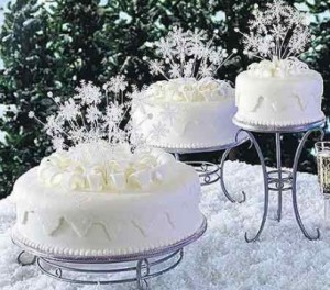 winter-theme-wedding-cake