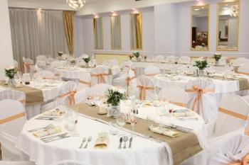 Svadobná výzdoba v hoteli Sebastian