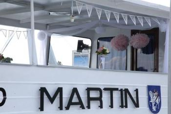 Pohľad na svadobnu lod