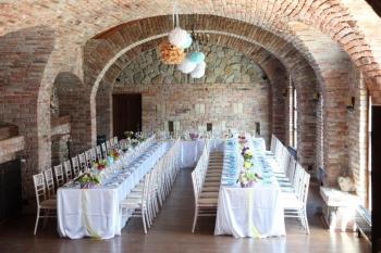 Svadobná výzdoba v Neco winery Modra